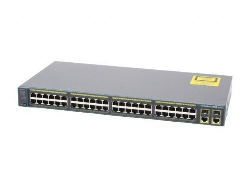 Cisco Refresh Catalyst WS-C2960-48TC-L Ethernet Network Switch 48 2xT/SFP Ports